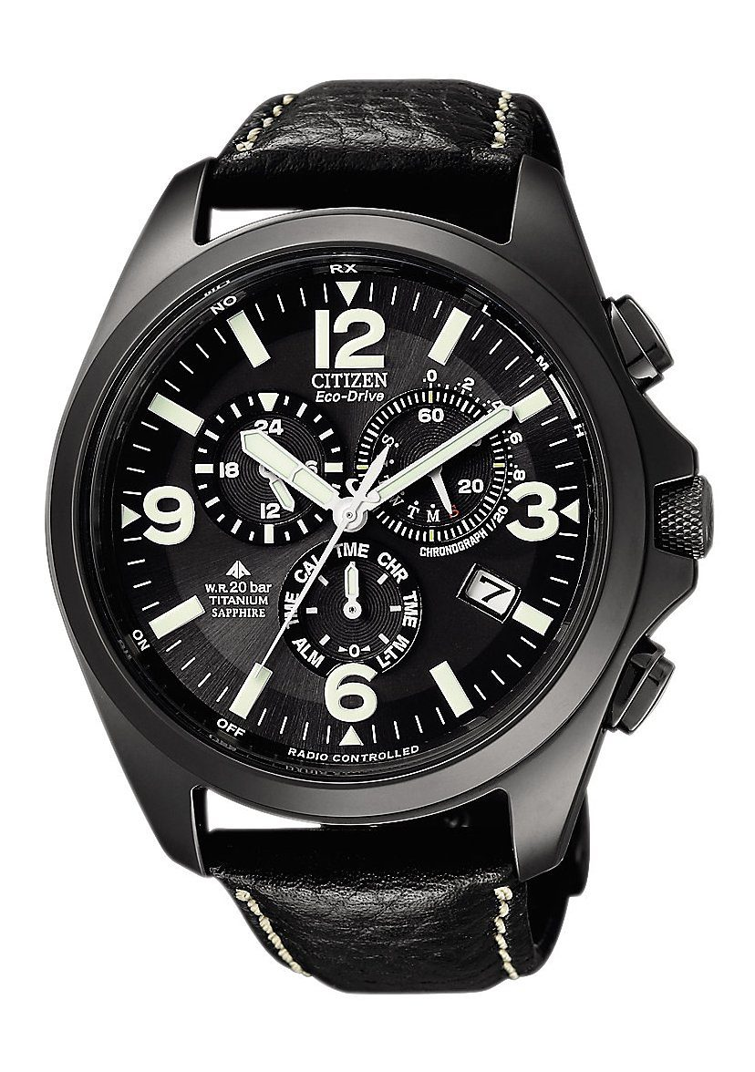 "Citizen, Funkchronograph, ""AS4035-04E"""