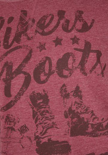AHORN SPORTSWEAR T-Shirt mit modischem Frontprint