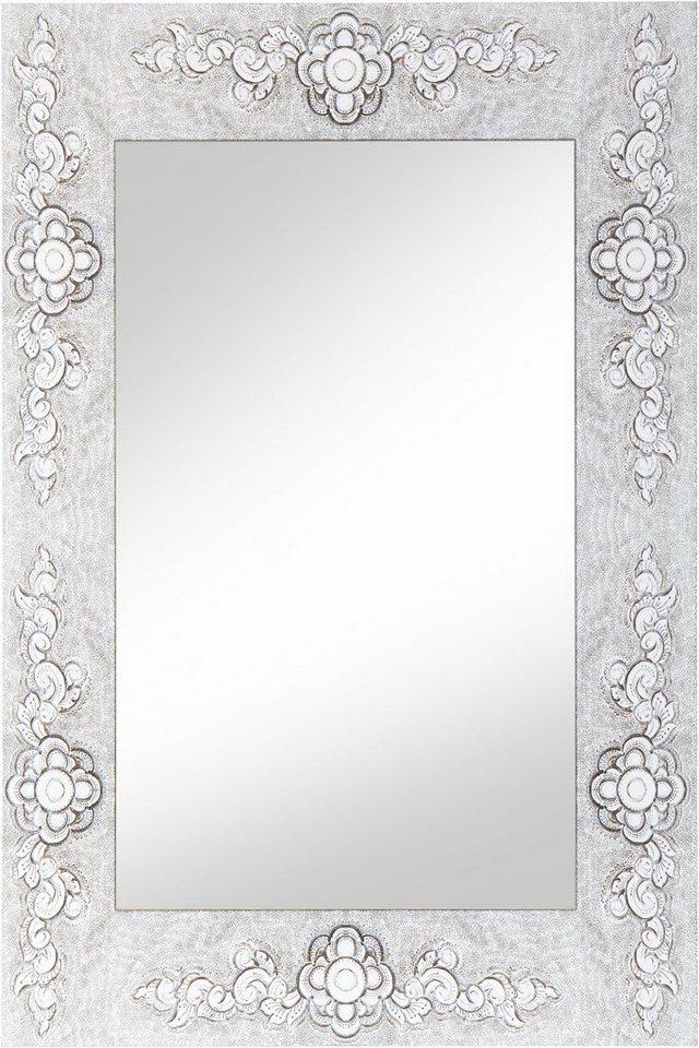 Home affaire spiegel rahmen blume online kaufen otto - Spiegel mit rahmen ...