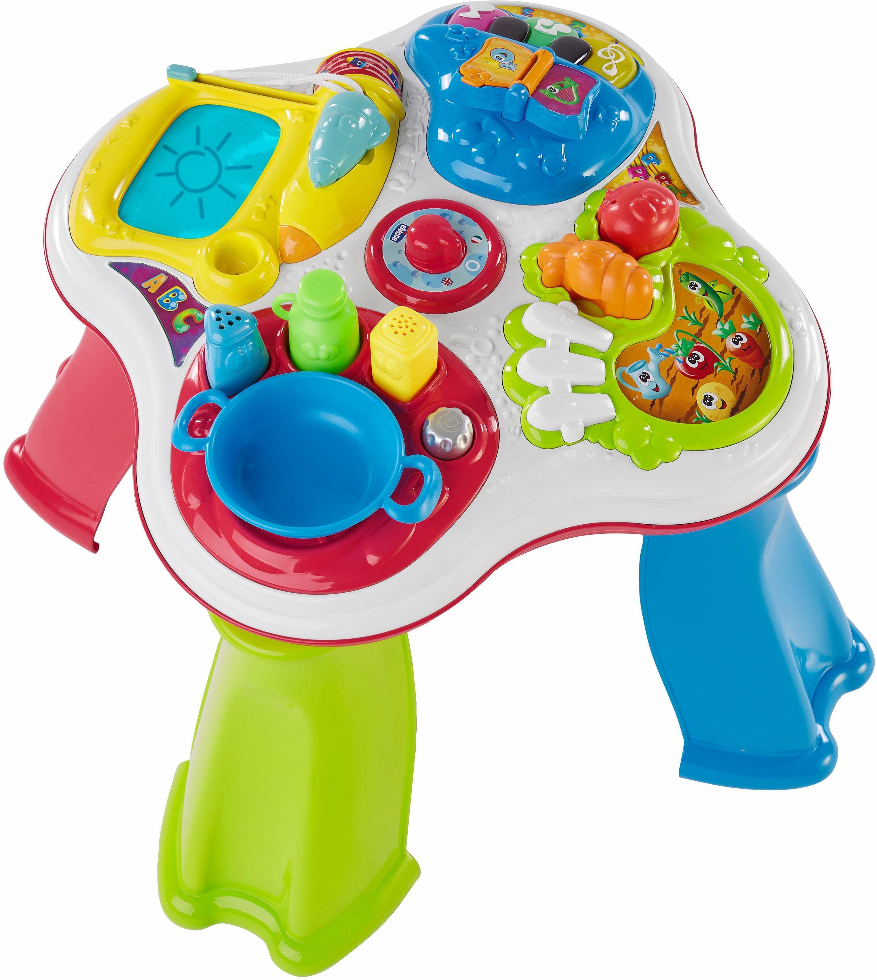 Chicco® Spieltisch mit abnehmbaren Beinen, »Bilingual ABC Spieltisch Hobbies D/GB«