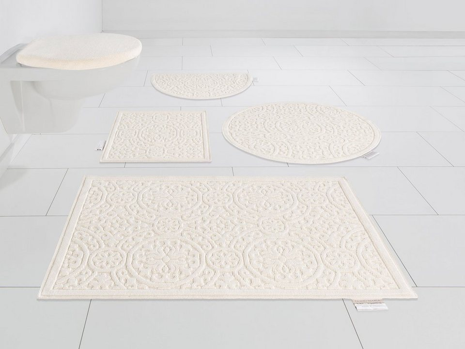 badematte garden pastels guido maria kretschmer home living h he 3 mm pastell online kaufen. Black Bedroom Furniture Sets. Home Design Ideas