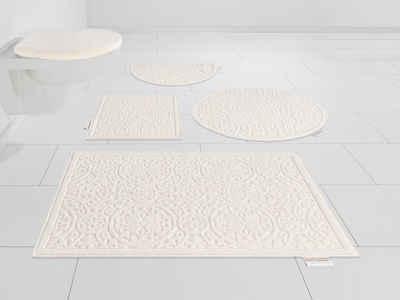 Badematte »Garden Pastels« Guido Maria Kretschmer Home&Living, Höhe 3 mm, fußbodenheizungsgeeignet, Pastell