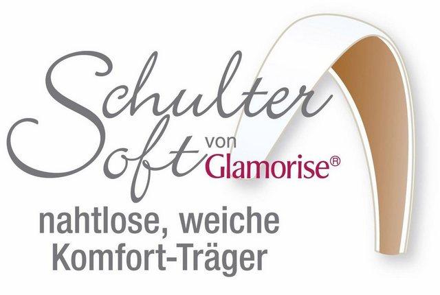 glamorise -  T-Shirt-BH ohne Bügel >>1080<< mit Schulter-Soft-Trägern, nahtlos und weich ohne Einschneiden