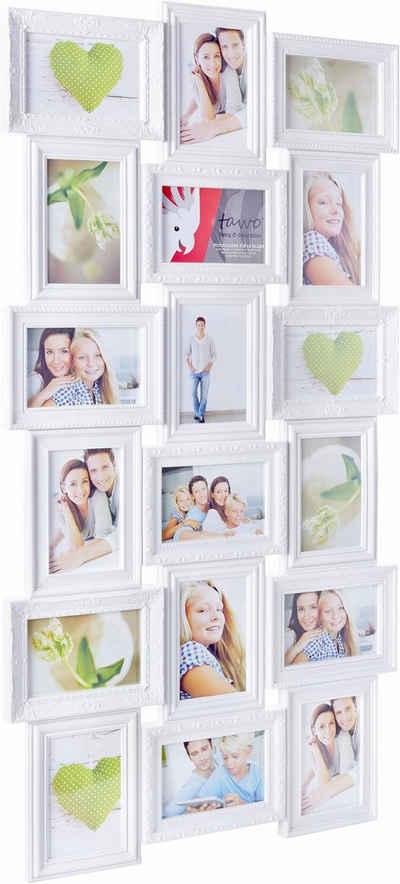 Home affaire Galerierahmen, für 18 Bilder, Fotorahmen, Bildformat 10x15 cm