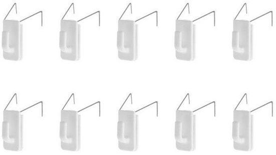 Klemmfix »Fensterhaken«, LICHTBLICK, Fensterdekoration, (Set, 10-tlg), für Dekorkationen