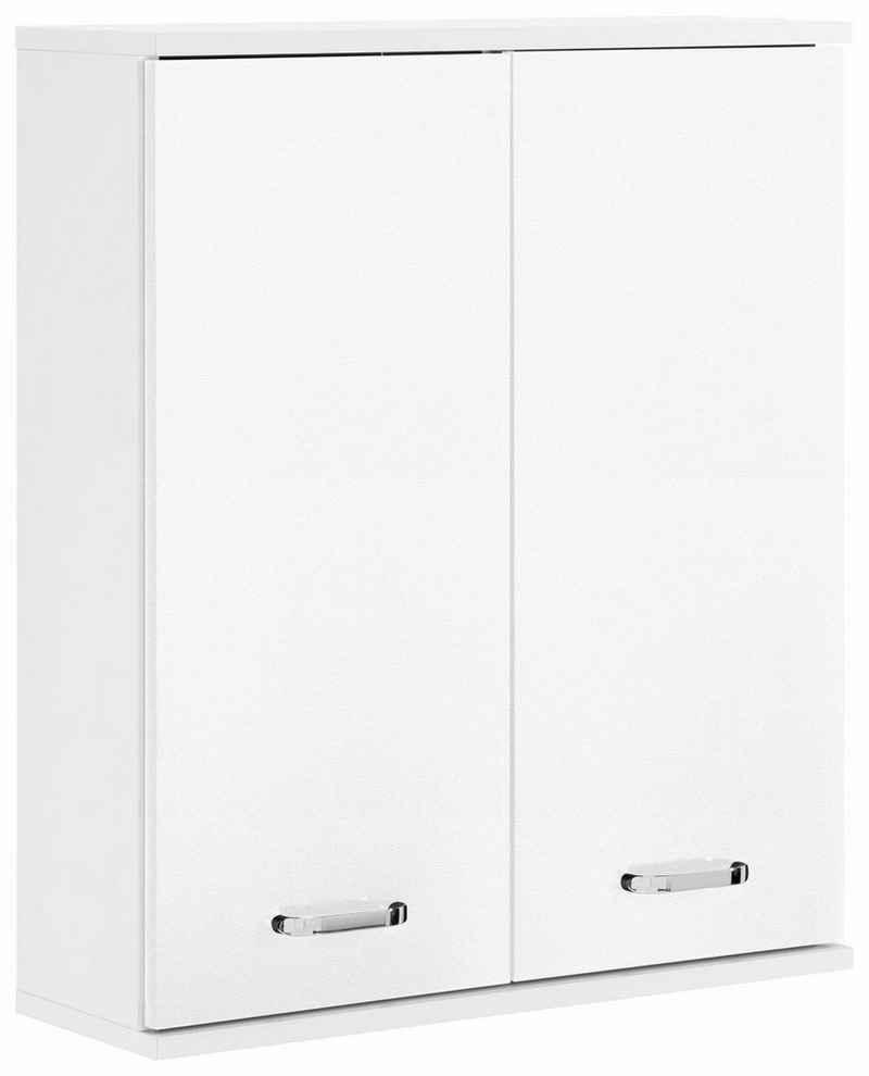 Schildmeyer Hängeschrank »Colli« Breite 60 cm, Badezimmerschrank mit Metallgriffen, praktische Ablageböden hinter den Doppeltüren
