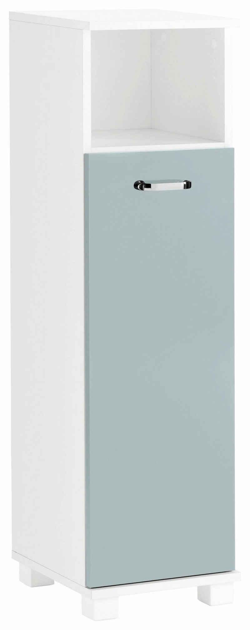 Schildmeyer Midischrank »Colli« Höhe 110,5 cm, Badezimmerschrank mit Metallgriff, Ablageböden hinter der Tür, praktischer Stauraum im offenen Fach