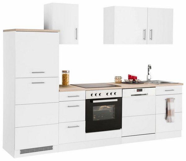 Küchenzeile »Perth«, mit E-Geräten, Breite 270 cm