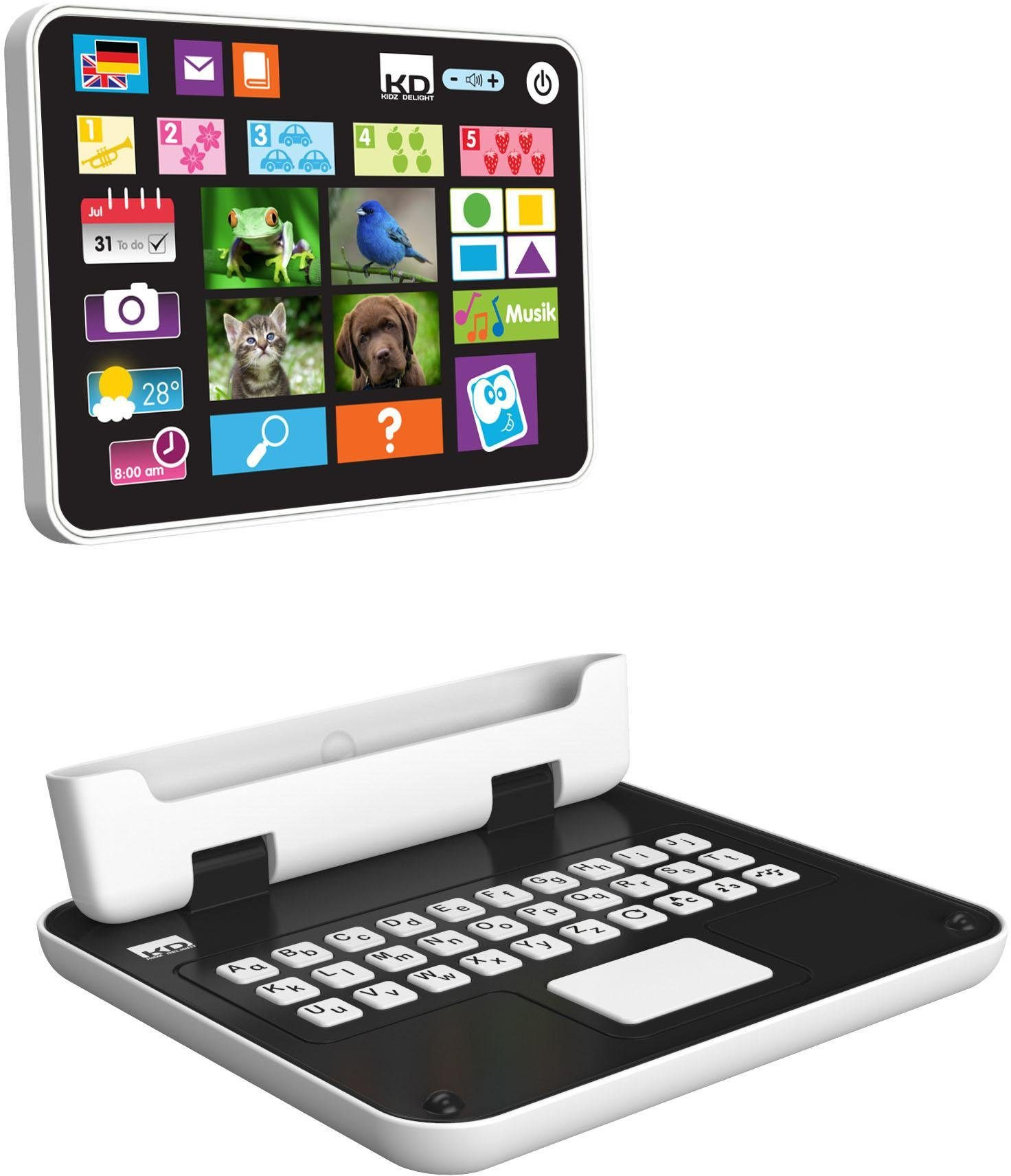 KD Kidz Delight, Kindertablet, »Tech Too My first 2 in 1 Tablet«