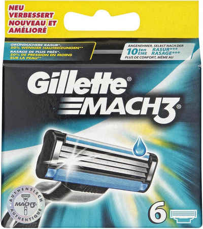 Gillette »Mach 3«, бритвенные лезвия, 6-tlg.