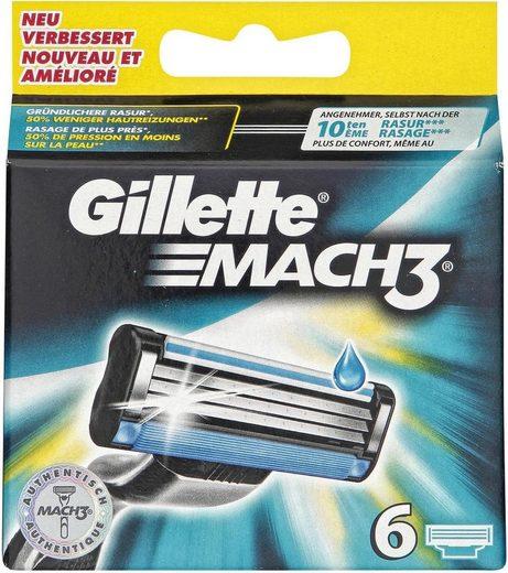 Gillette Rasierklingen »Mach 3«, 6-tlg.