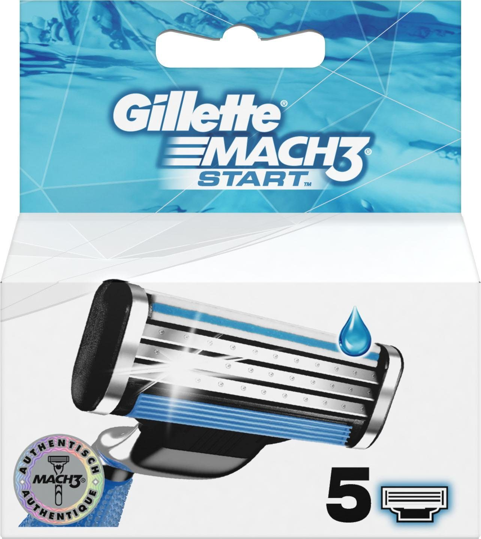 Gillette, »Mach3 Start«, Rasierklingen, 5-tlg.