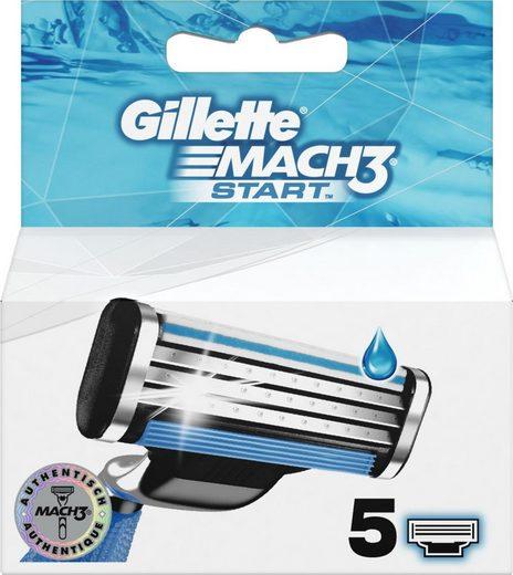 Gillette Rasierklingen »Mach3 Start«, 5-tlg.
