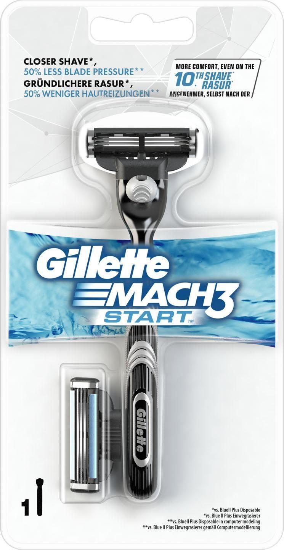 Gillette, »Mach3 Start«, Rasierer