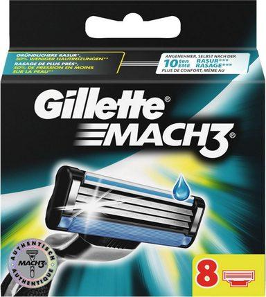 Gillette Rasierklingen »Mach 3«, 8-tlg.