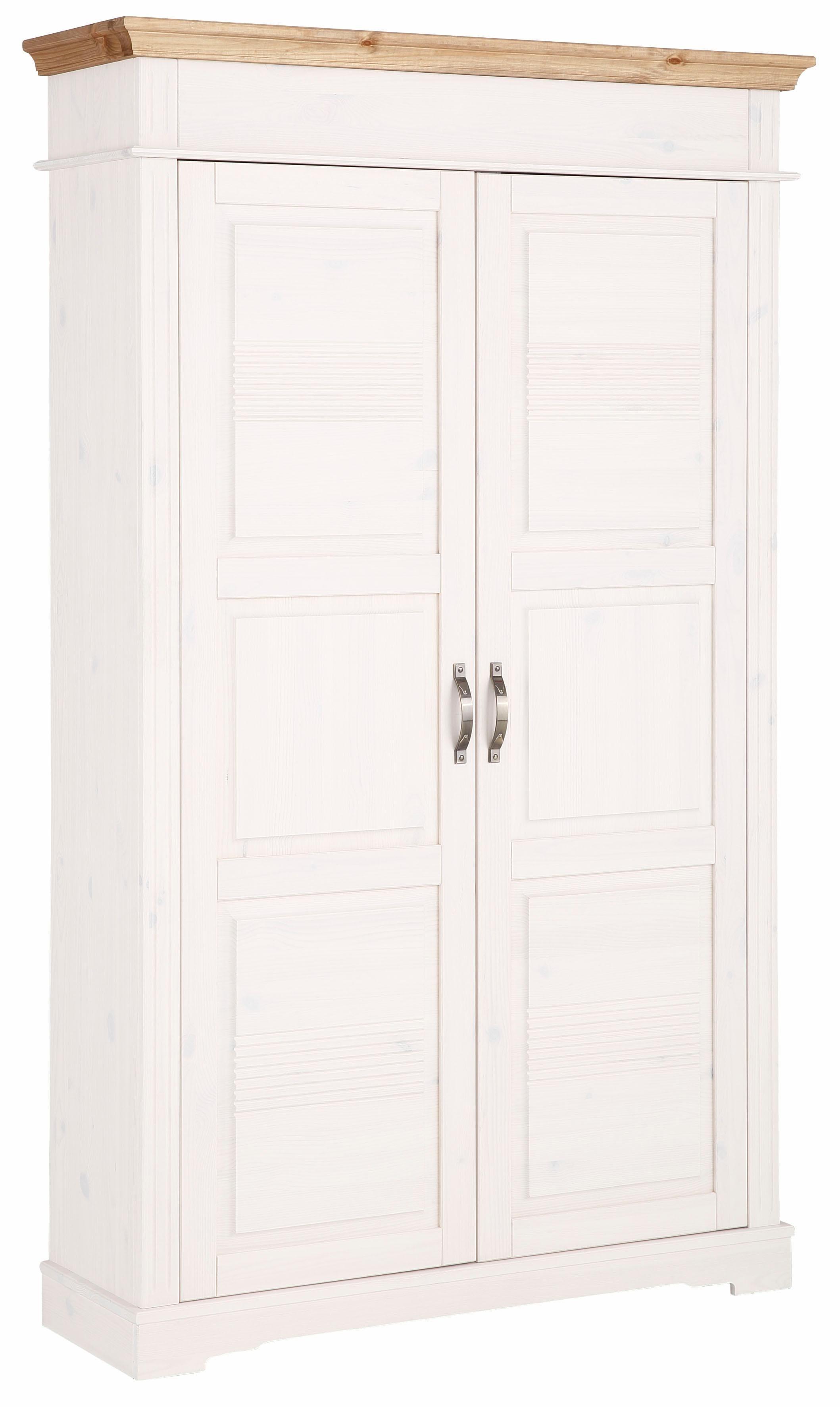 Home affaire Garderobenschrank 1- oder 2 trg. »Barcelona« aus massiver Kiefer | Flur & Diele > Garderoben > Garderobenschränke | Massivholz | Home affaire