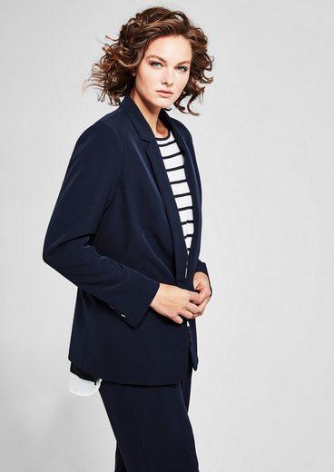TRIANGLE Eleganter Twill-Blazer