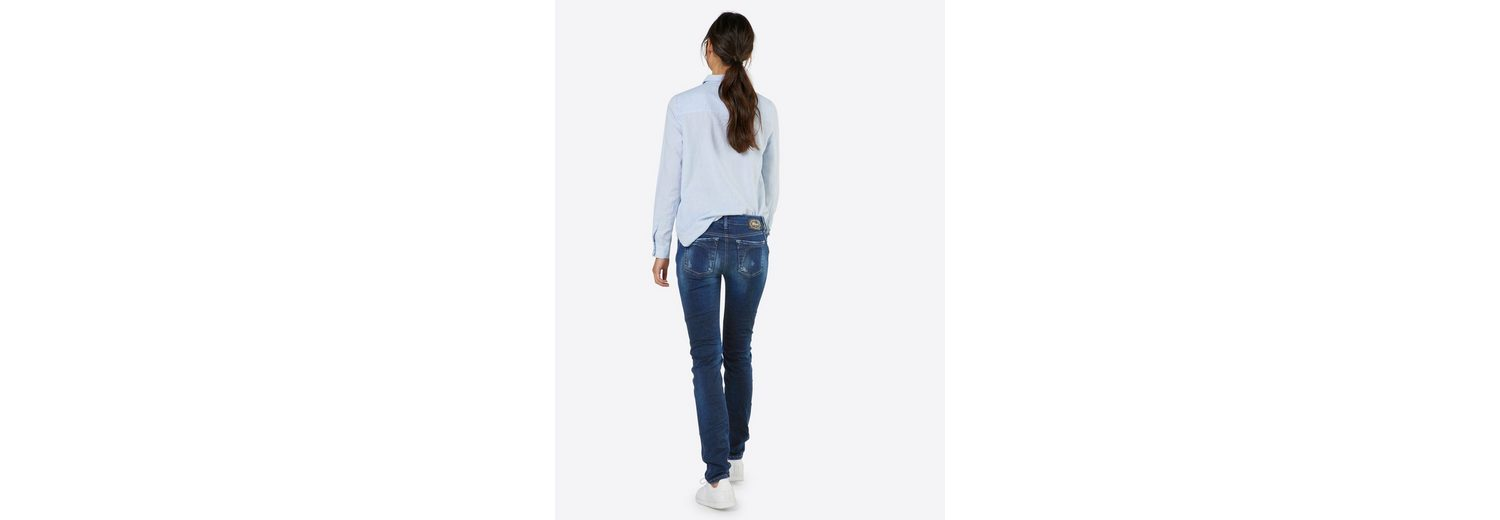 GANG Slim-fit-Jeans YASMIN Spielraum Footaction GKpph