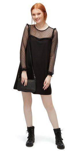 Tom Tailor Denim Spitzenkleid Kleid mit transparenter Spitze