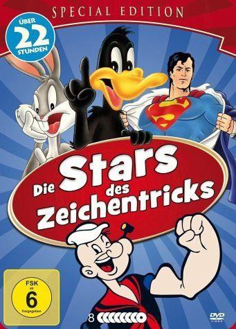 DVD »Die Stars des Zeichentricks (8 Discs)«