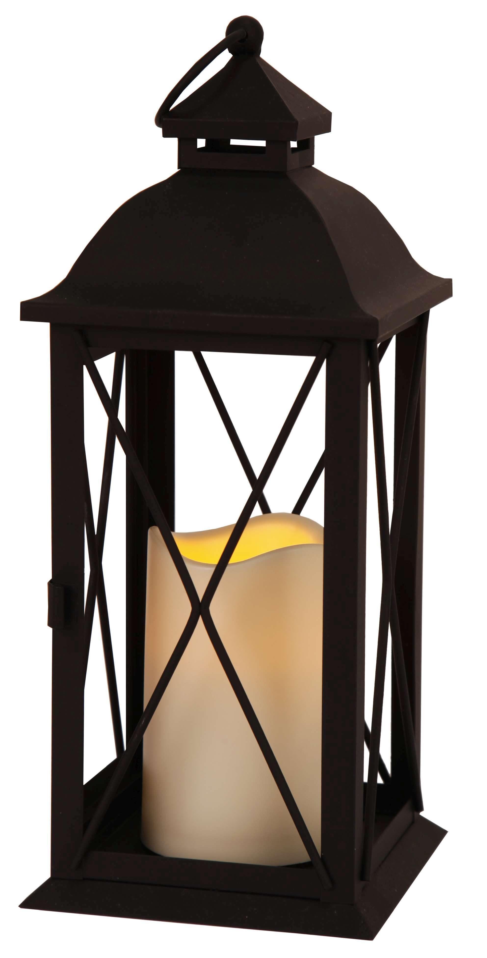 Star LED-Laterne mit Kunststoffkerze »Stall«