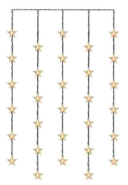 Star LED-Lichtervorhang mit Sternen »Star Curtain«