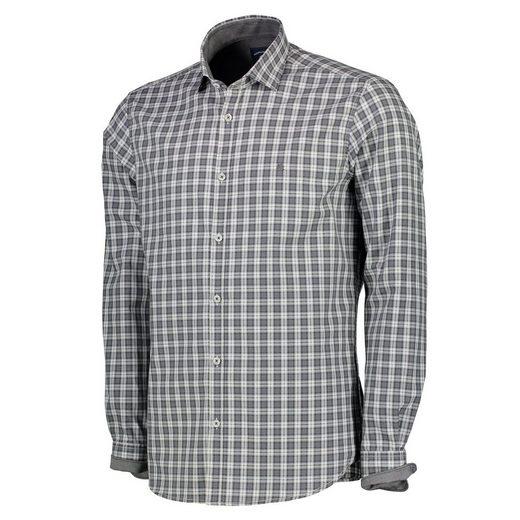 LERROS Langarmhemd in Poplin-Check