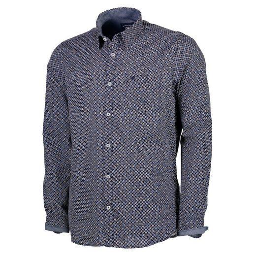 LERROS Langarmhemd mit trendigem Alloverprint