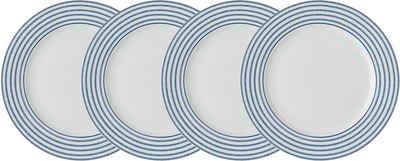 LAURA ASHLEY BLUEPRINT COLLECTABLES Dessertteller »Candy Stripe«, (4 Stück), Porzellan, 20 cm