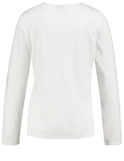 Gerry Weber T-Shirt 1/1 Arm Longsleeve mit Schleifen