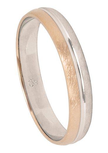 Firetti Trauring mit Gravur »eismatt, Diamantschnitt, 4,0 mm breit«, Made in Germany, wahlweise mit oder ohne Brillant