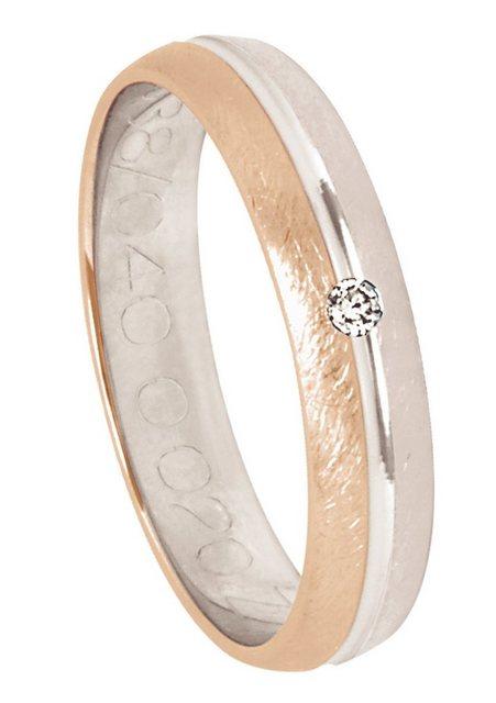 Firetti Trauring mit Gravur »Eismatt, Diamantschnitt« Made in Germany | Schmuck > Ringe > Ringe mit Gravur | Firetti