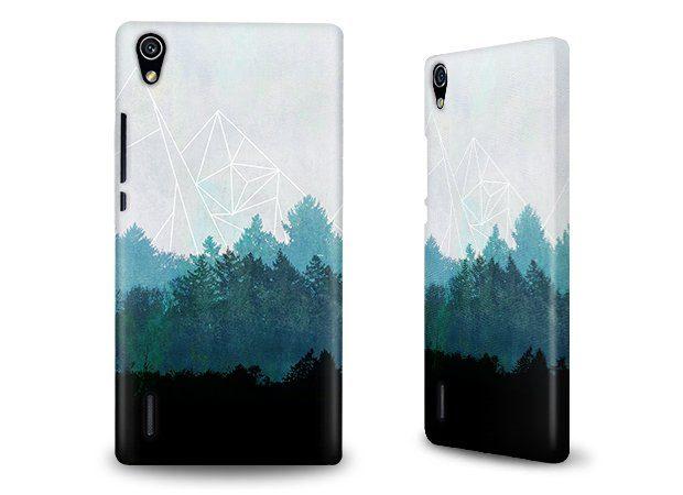caseable Hülle / Case / Cover für Huawei Ascend P7 mit Designer Motiv