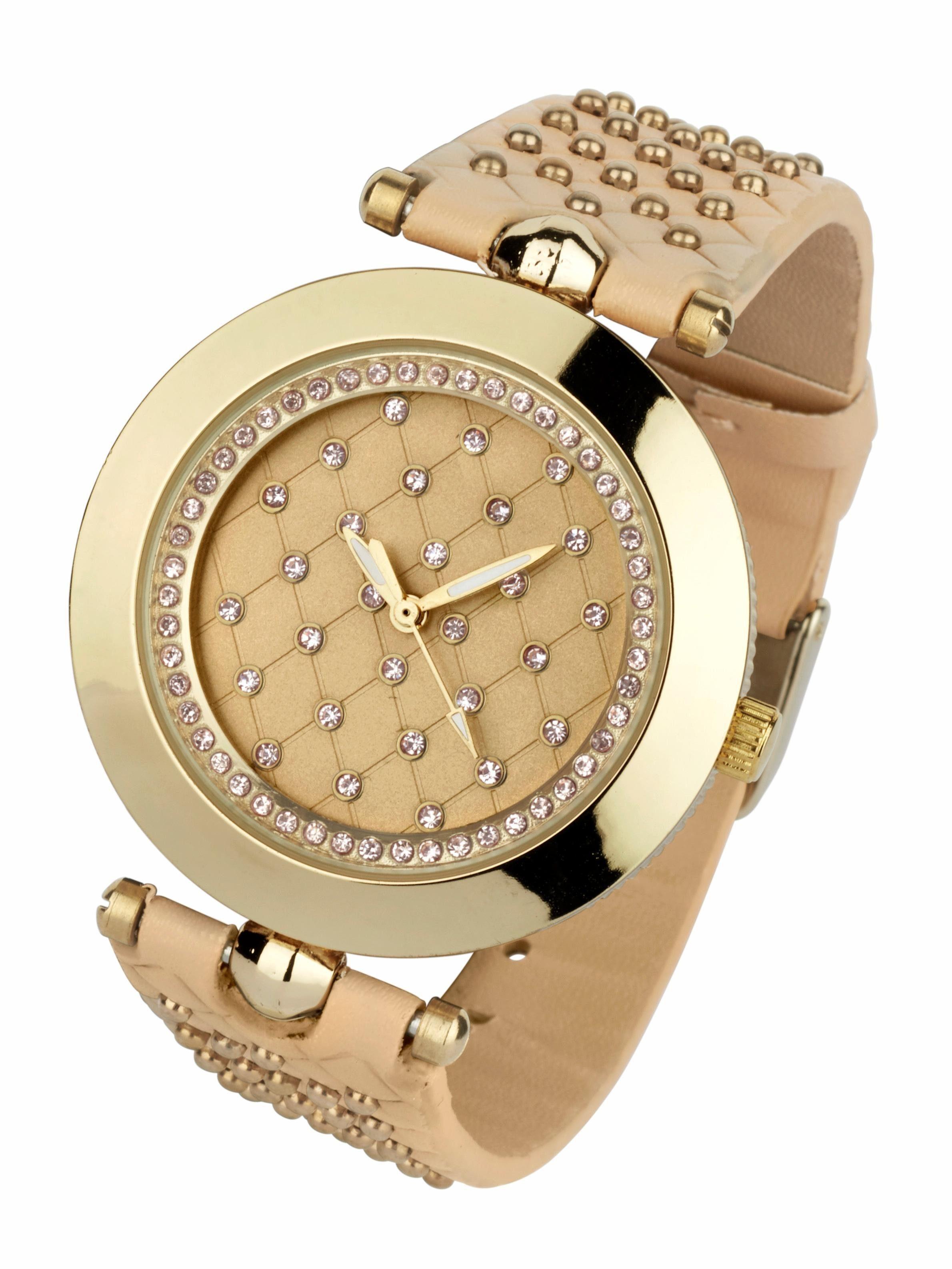 Smith Damen Sonnenbrille » LANGLEY«, goldfarben, J5G/VQ - gold/rosa