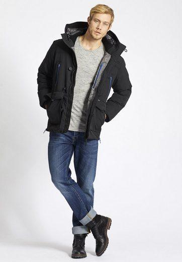 Khujo Winterjacke Jodokus, With Internal Knit Collar
