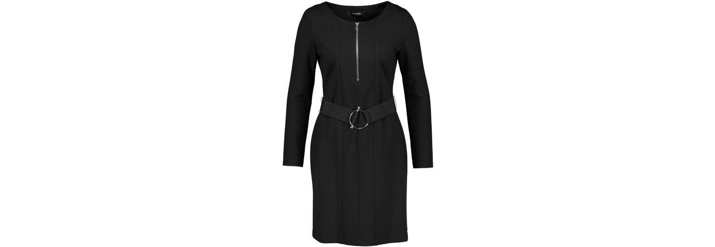 Versorgung Günstiger Preis Taifun Kleid Gewirke Stretchkleid mit Gürtel Super Bj1W63NK