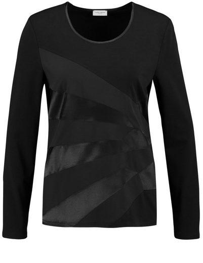 Gerry Weber T-Shirt 1/1 Arm Longsleeve mit Materialpatch