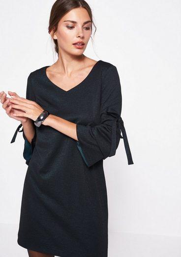 COMMA Elegantes Longshirt mit 3/4-Ärmeln