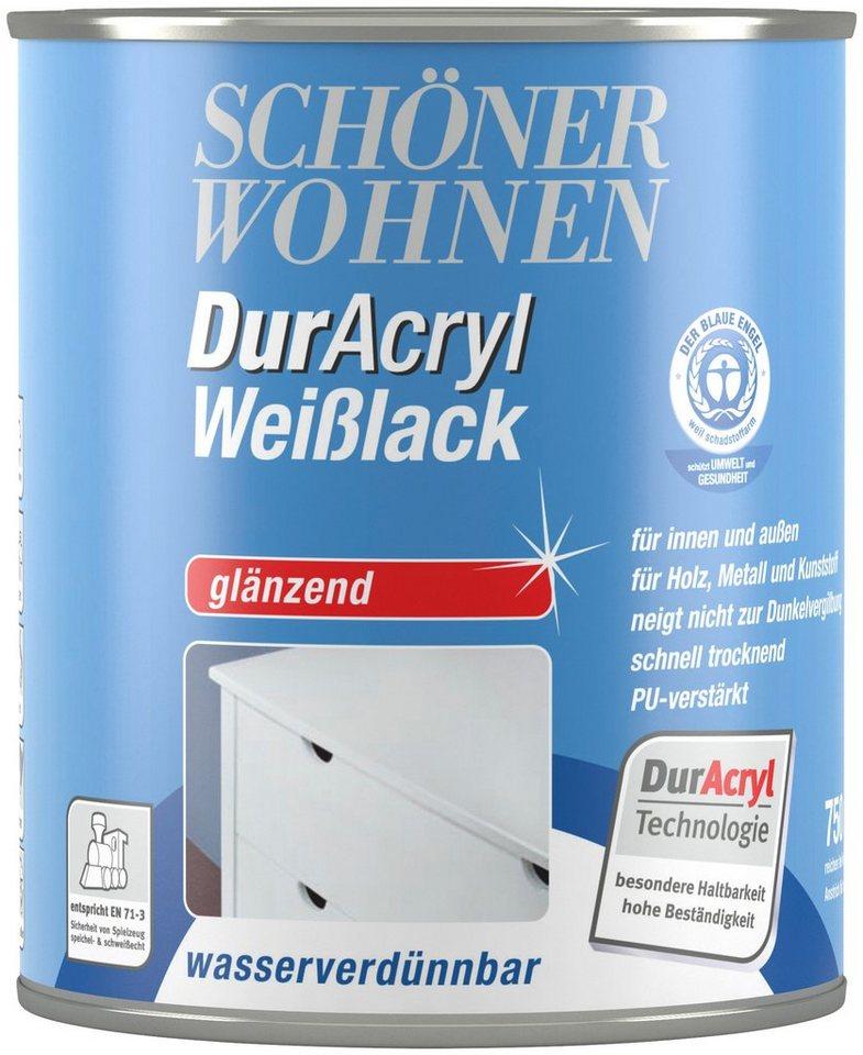 Schöner Wohnen Farbe Weißlack »DurAcryl glänzend, 750 ml« online kaufen |  OTTO