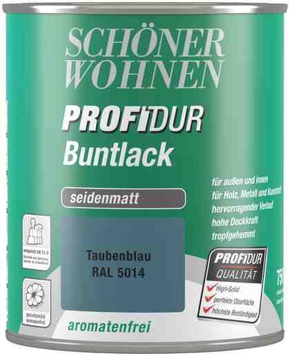 Schöner Wohnen Farbe Buntlack »ProfiDur seidenmatt, 750 ml taubenblau«