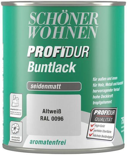 Schöner Wohnen Farbe Buntlack »ProfiDur seidenmatt, 750 ml altweiß«