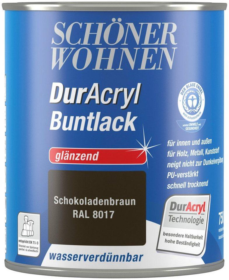 Schöner Wohnen Farbe Buntlack »DurAcryl Hochglänzend, 750