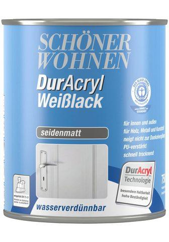 Gražus WOHNEN FARBE Weißlack »Duracryl...