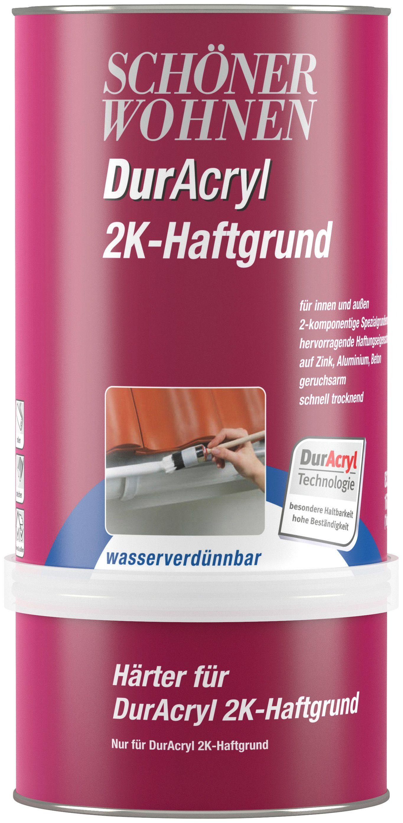 SCHÖNER WOHNEN FARBE Spezial-Haftgrund »Duracryl 2k Haftgrund 1,0 kg, wasserverdünnbar«