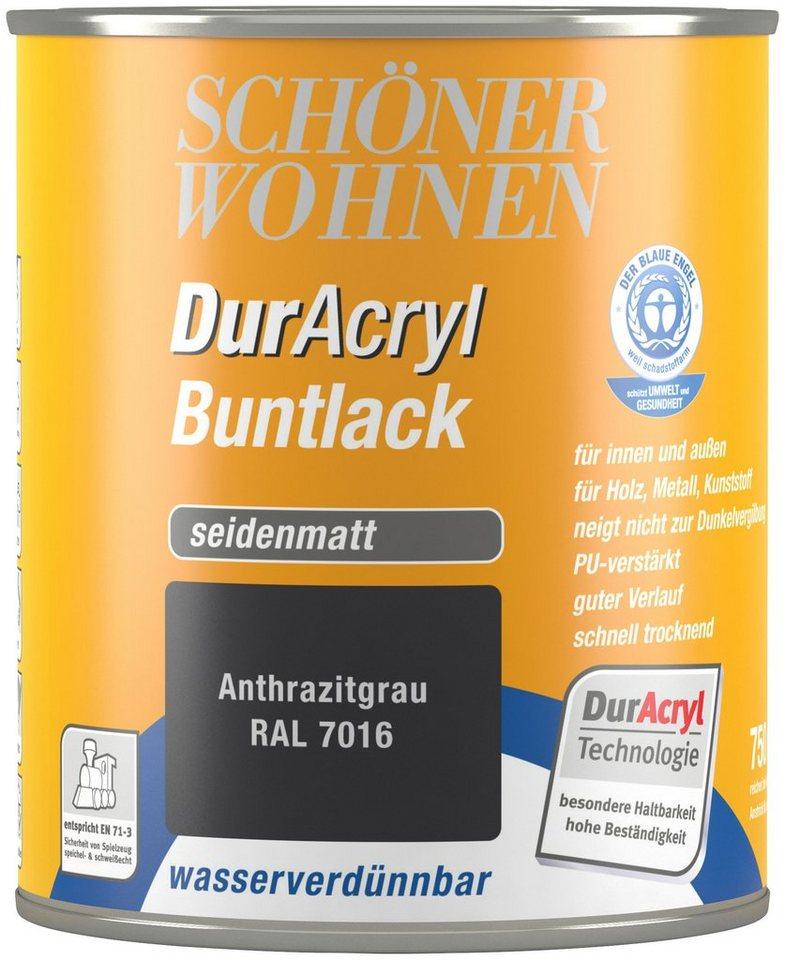 Schöner Wohnen Farbe Buntlack »DurAcryl Seidenmatt, 750 Ml