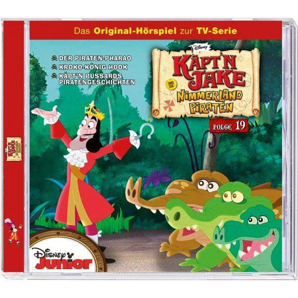 Kiddinx Hörbücher CD »Disney - Jake und die Nimmerland Piraten (19)«