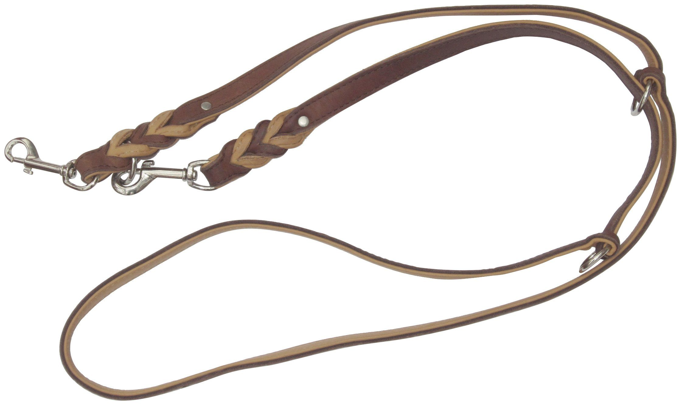 HEIM Hundeleine »Zugspitze«, braun, Länge: 200 cm