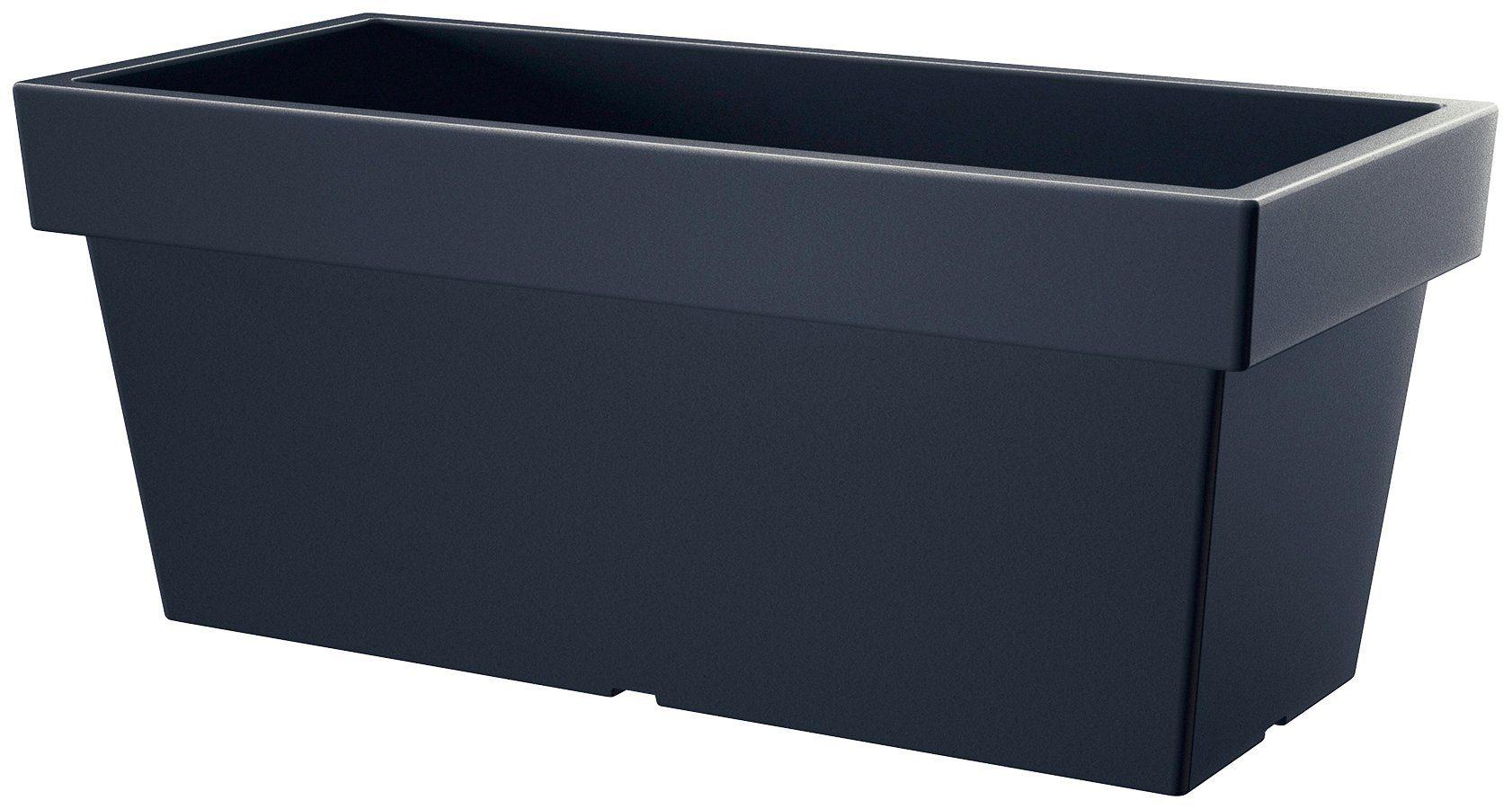 PROSPERPLAST Blumenkasten »Lofly case«, anthrazit, BxTxH: 79,2x35,2x33,4 cm
