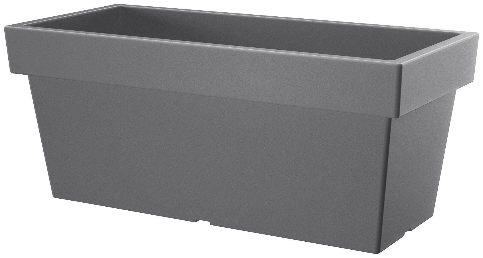 PROSPERPLAST Blumenkasten »Lofly case«, steingrau, BxTxH: 39x39x41 cm