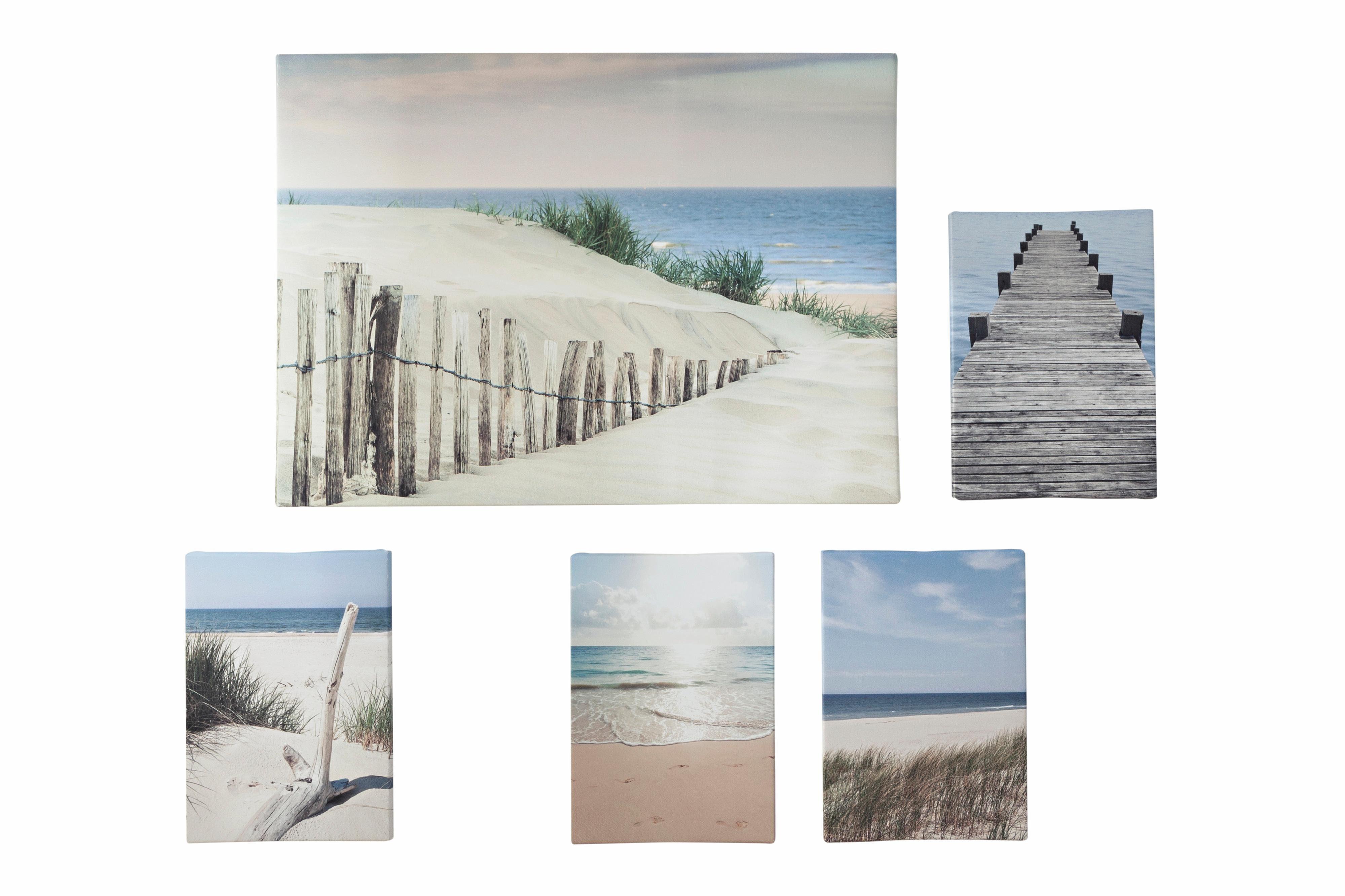 heine home Bild 5-teilig Strand, Dünen